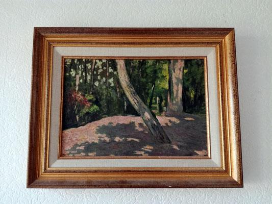 Peinture  de mon grand père