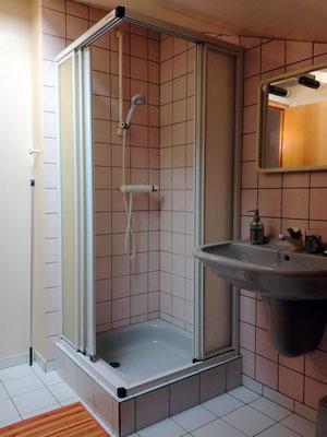 Salle de douche - Chambre d'hôtes près du lac du der