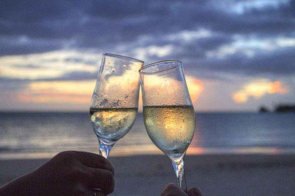 Sektempfang Gläser