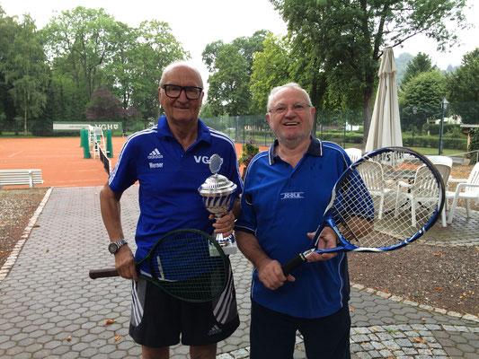 Doppel - Platz 2 : Werner Koch und Jürgen Sablotny