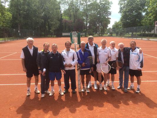 """Die Mannschaften des TC Bad Lauterberg und TC RW Osterode """"gemischt"""""""