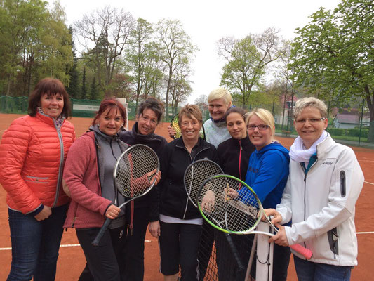 v.l. Gittelde: Elke Jakob, Manuela Lehn, Anke Beemann, Silke Eicke - TCB:  Katrin Liessmann, Nadine Fröhlich, Sarah Lohrengel, Claudia Ziemke-Wald