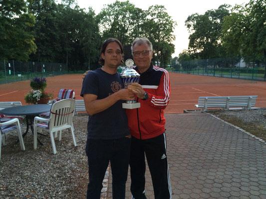 Doppel - Platz 1 : Timo Fröhlich und Peter Lehnen