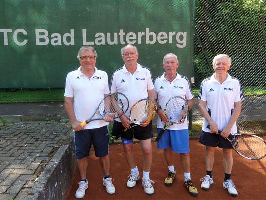v.lks: Peter Lehnen, Karl-Heinz Ziegenbein, Jürgen Breitenstein und Otto Matzenauer