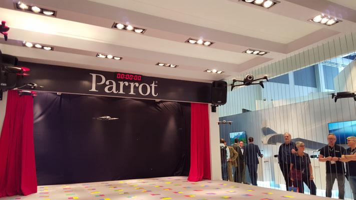 Parrot Démonstartion drones IFA