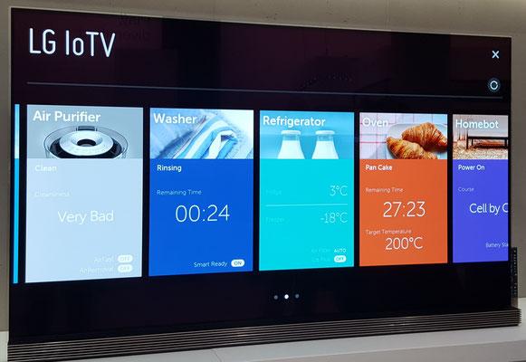 IFA Berlin -  LG IOT TV