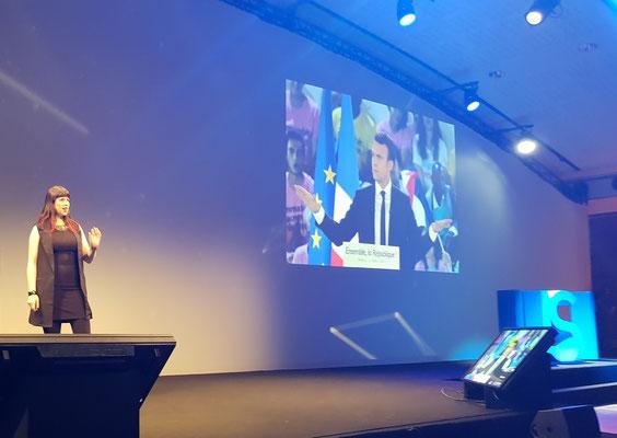 Keren Elazari - USI - Hacker - Presidential Election - Emmanuel Macron