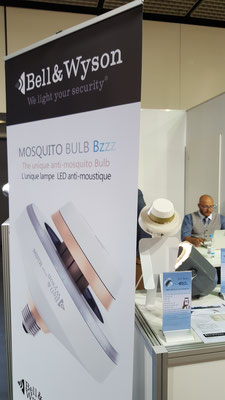 Bell & Wyson Lampe anti-moustique Stand IFA