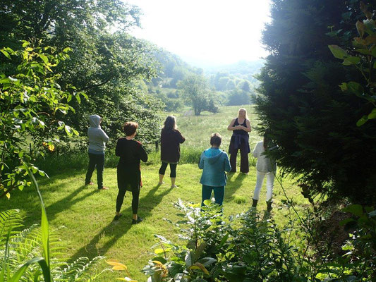 Qi Gong in der Natur