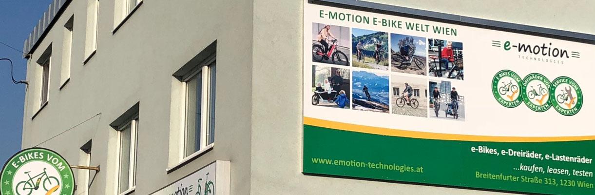 Lastenfahrräder, e-Cargobikes und Lasten e-Bikes kaufen, Probe fahren und Services im Lastenfahrrad-Zentrum Wien