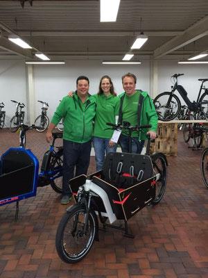 Lastenfahrräder beim Experten in Lübeck