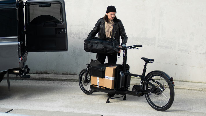 Carqon Lasten e-Bike als Alternative zum PKW
