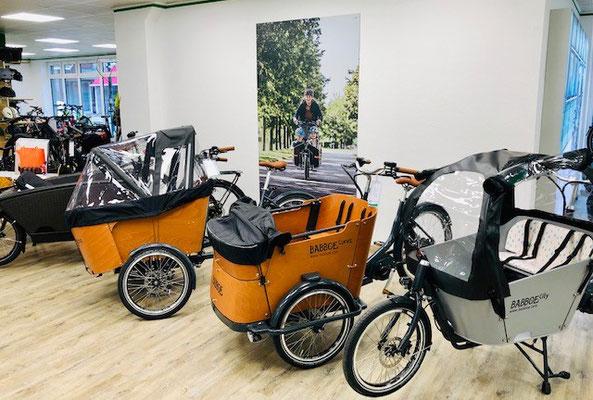 Urban Arrow und Babboe Lastenfahrräder und Cargo e-Bikes kaufen im Lastenfahrrad-Zentrum Tönisvorst
