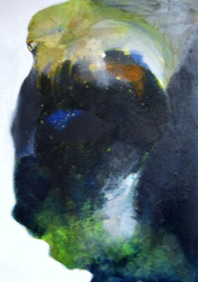 Ohne Titel - Acryl auf Leinwand 70 x 50 cm