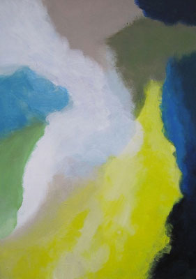 Ohne Titel, Acryl auf Leinwand 70 x 50 cm