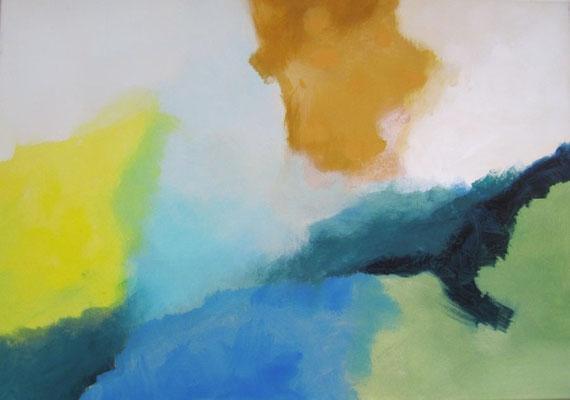 Ohne Titel, Acryl auf Leinwand 50 x 70 cm