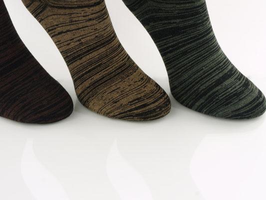 Sehr schön ist auch die absolut flache, handgekettelte Zehennaht.