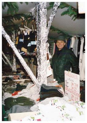 Klaus Gerlach auf dem Augsburger Christkindlesmarkt