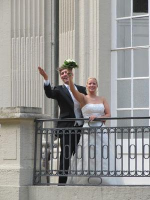 Hochzeit bei Frankfurt