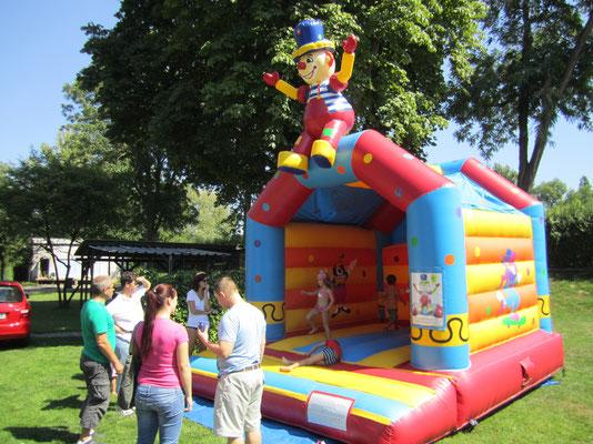 Hüpfburg Clown 5 x 4,5 m