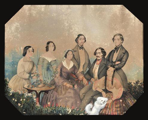 Η οικογένεια του Μαυροκορδάτου