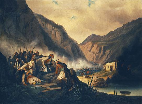 Η μάχη στα στενά των Δερβενακίων