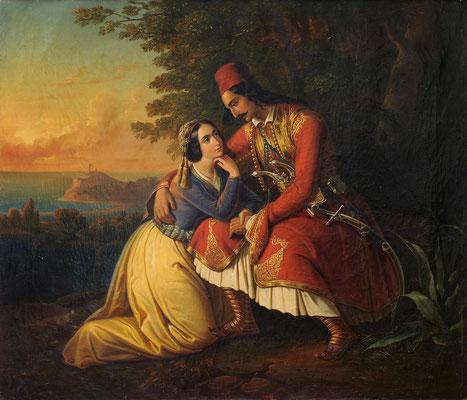 Ο αποχαιρετισμός στο Σούνιο, 1863