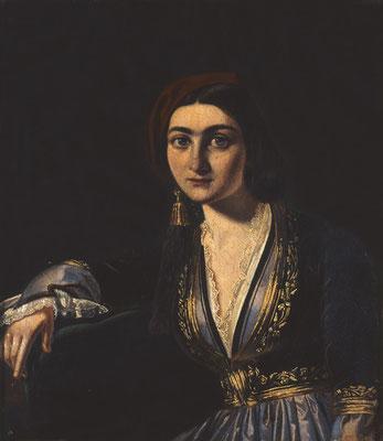 Η ωραία Ελληνίδα, κόρη Καρατζά