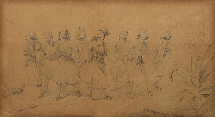 Φουστανελλοφόροι χορευτές