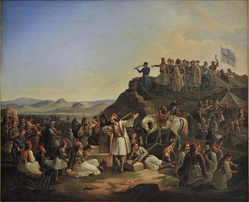 Το στρατόπεδο του Καραϊσκάκη, 1855
