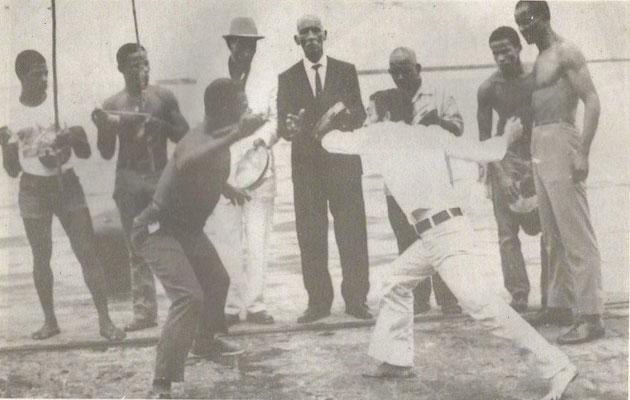 Mestre Noronha, Capoeira