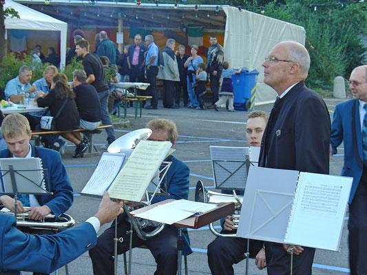 Kölliker Beizlifest, Ständchen beim Gemeindehaus am 3. September 2010.