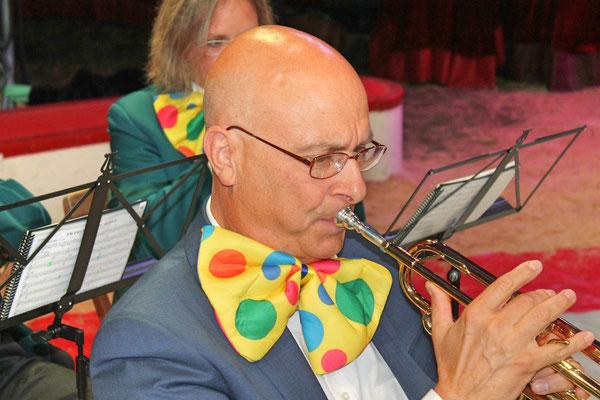 Markus Brechbühl; Auftritt im Zirkus Stey Dorfplatz Kölliken am 17. August 2018