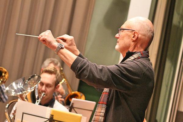 Probe vom 21. März 2018 Mehrzweckhalle; Dirigent Hansjörg Ammann