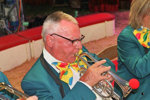 Kurt Baumann; Auftritt im Zirkus Stey Dorfplatz Kölliken am 17. August 2018