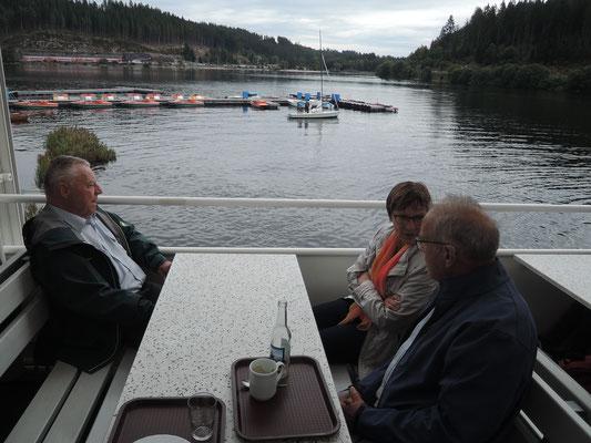 Ausflug mit dem MVU 22. September 2019; Schifffahrt auf dem Schluchsee