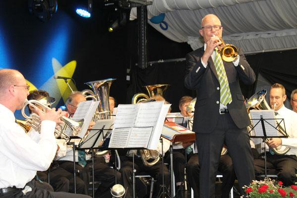 Trompetensolo von Hansjörg Ammann; Bärenfest 3. Mai 2015 Kölliken