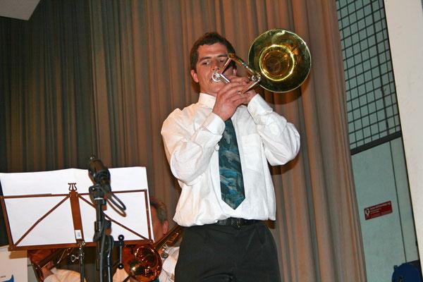 Christoph Huber; Jahreskonzert 26. März 2011 Mehrzweckhalle Kölliken