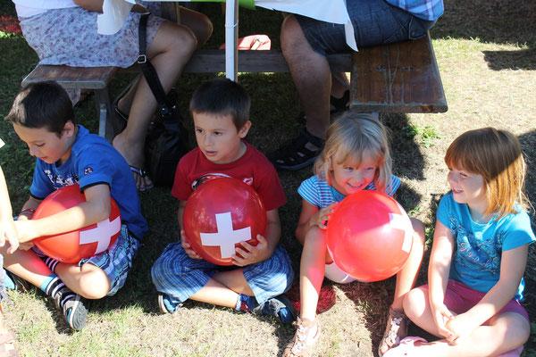 Bundesfeier 1. August 2013 beim Strohdachhaus Kölliken