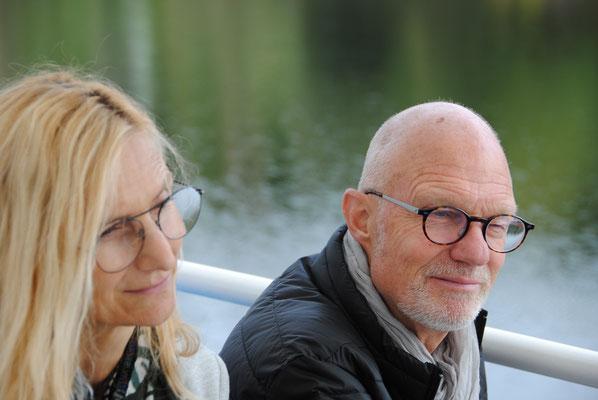 Ausflug mit dem MVU 22. September 2019; Schifffahrt auf dem Schluchsee; Carolina und Hansjörg Ammann