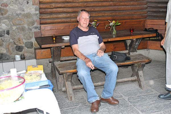 Hock (Grillieren) bei der Waldhütte Salamander Kölliken 1. Juli 2019; Kurt Baumann