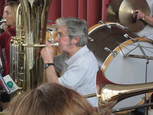 Sepp Ottiger; Probesamstag in der Arche am 6. März 2010
