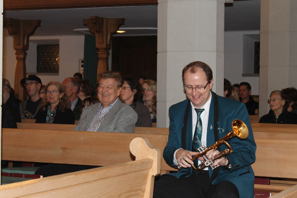 René Erne (Trompete); Kirchenkonzert 4. November 2012 reformierte Kirche Kölliken