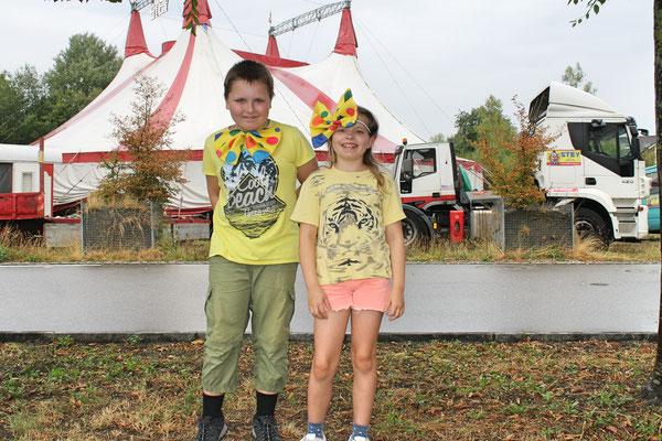 Florian und Nicole Erismann; Auftritt im Zirkus Stey Dorfplatz Kölliken am 17. August 2018
