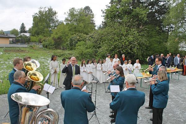 Ständchen Erstkommunion 5. Mai 2019 Katholische Kirche Kölliken