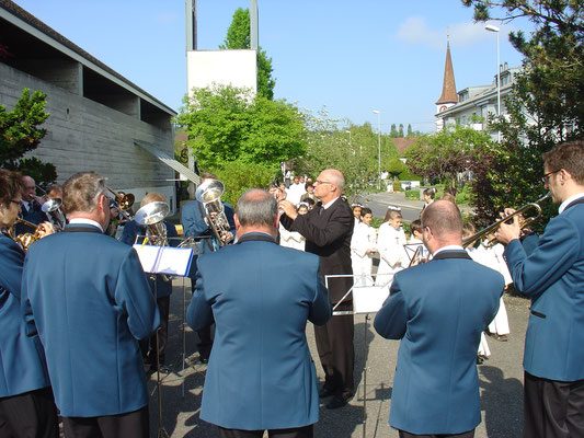 Erstkommunion 1. Mai 2011 Katholische Kirche Kölliken