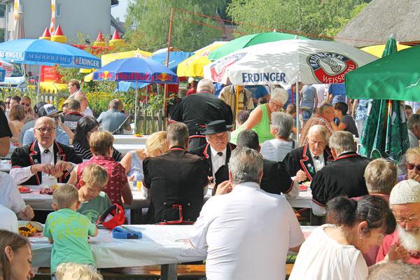 Bundesfeier beim Strohdachhaus 1. August 2017
