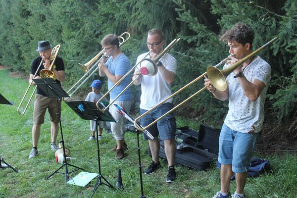 70. Geburtstag Lui Huber; Openair Konzert am 26. August 2016 in Walterswil