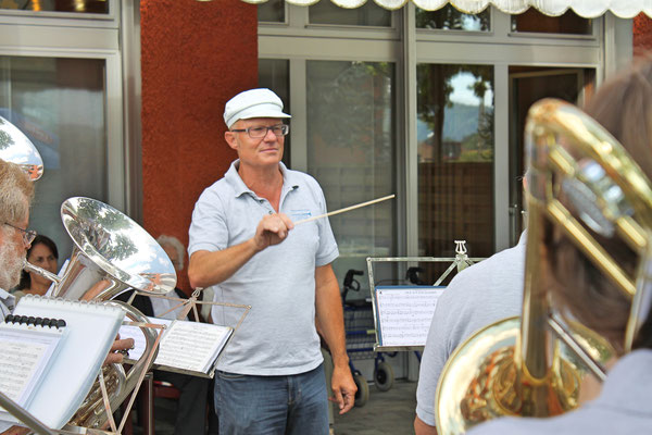 Hansjörg Ammann, Ständchen am 11. August 2013 beim Kölliker Altersheim