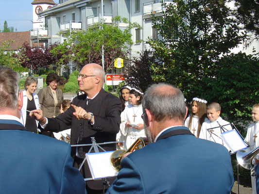 Erstkommunion 1. Mai 2011 Kkatholische Kirche Kölliken